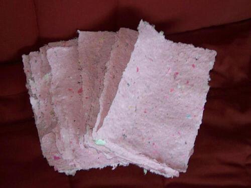 Comment faire du papier recyclé ?