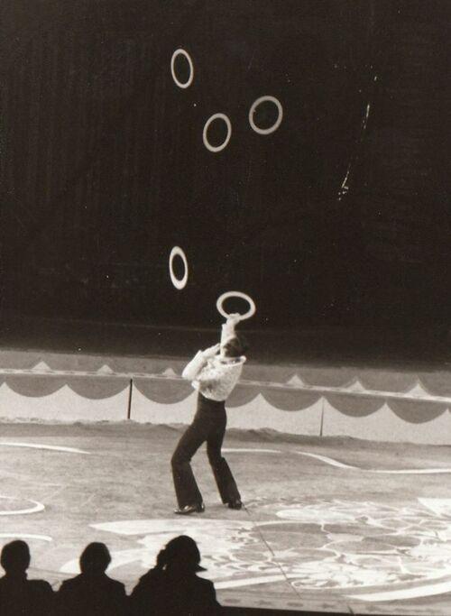 Jean Richard présente le Cirque sur l'eau de Budapest : 5ième partie (archives Dominique Rostant - Photos Dick Prins)