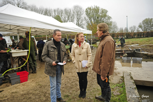 La vidange du lac de Marcenay, un reportage de Jean-Pierre Gurga (3ème partie)