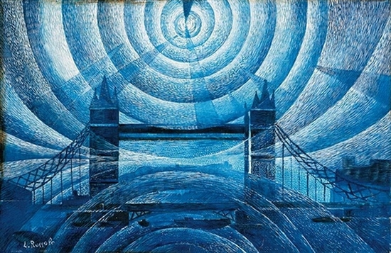 Luigi Russolo, Tower Bridge, 1910
