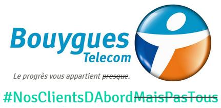 Quand Bouygues Telecom m'accorde gentiment une faveur...
