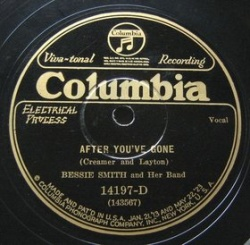 Bessie Smith : After You've Gone (1927)