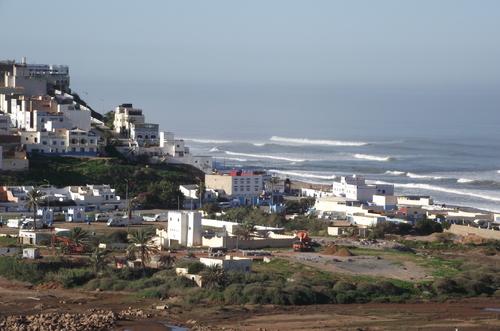la plage de IFNI