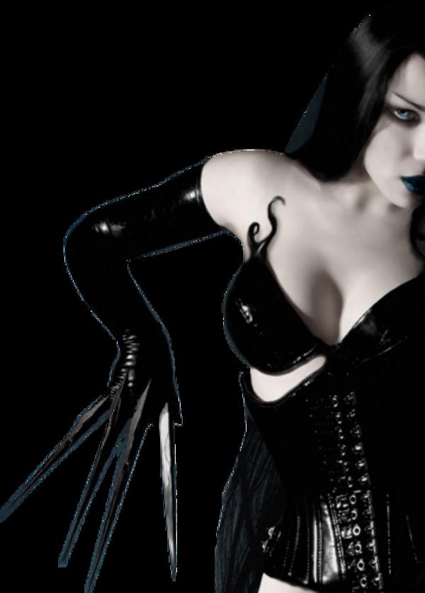 Femme gothique etc / 7
