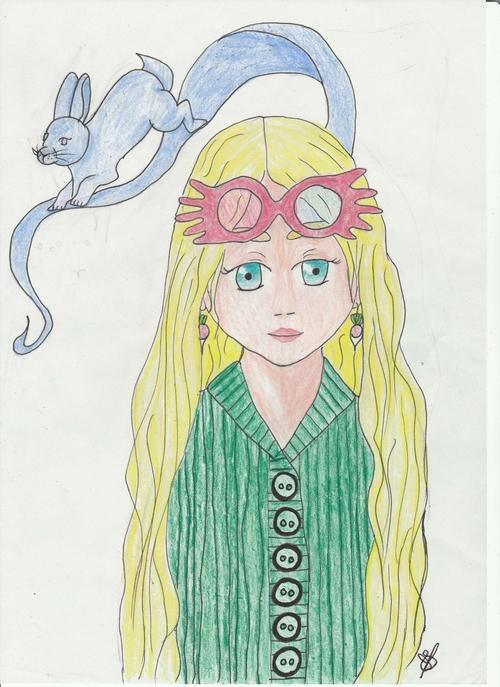 Luna Lovegood !