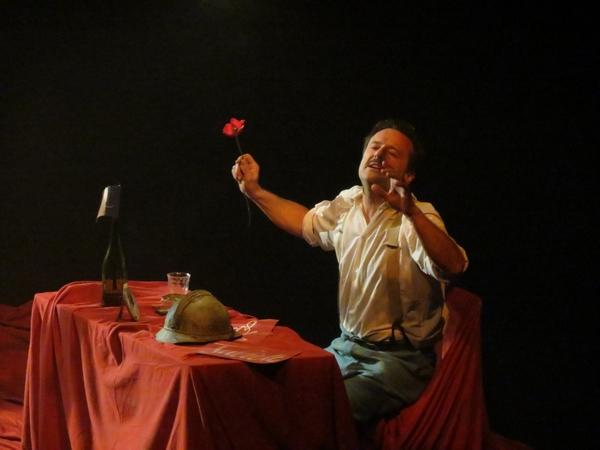 """""""La fleur au fusil"""", un autre regard sur la guerre de 1914-1918 qui a bouleversé le public du théâtre Gaston Bernard..."""