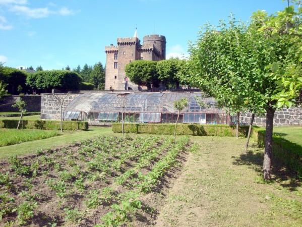 Château-Dauphin Jardin potager