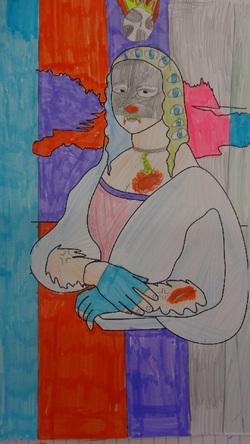 Art : La Joconde selon les élèves de Val10
