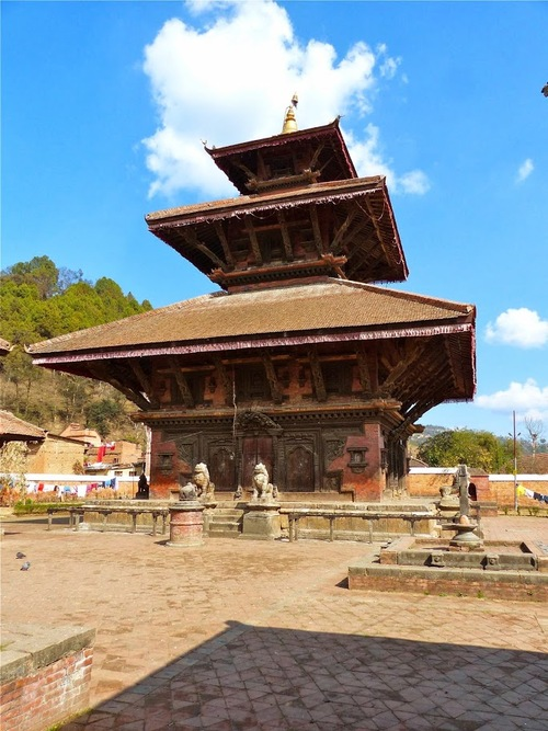 Panauti et ses temples