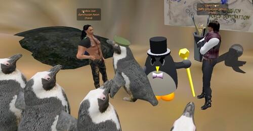 Pingouins en classe soumarine