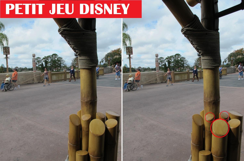 Saurez-vous retrouver où se cache Mickey sur ces photographies