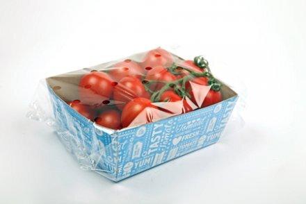 Des tomates recyclées en carton pour transporter… des tomates !