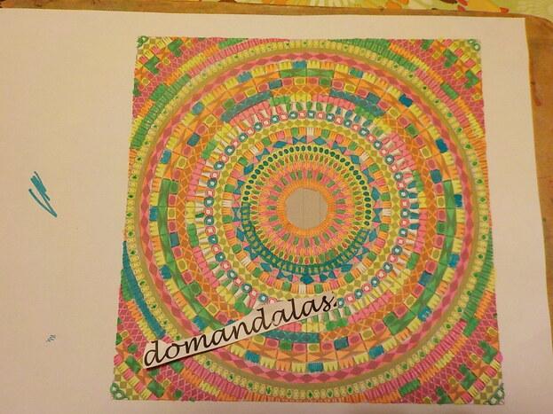 DOMANDALAS  mandala des couleurs