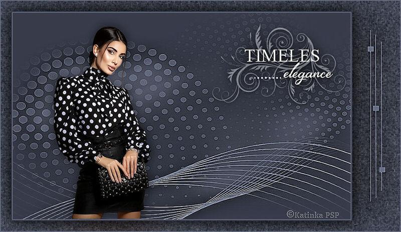 Katinka - Tutorial - Timeles elegane