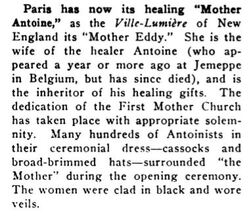 Mother Antoine (Record of Christian Work, 1914)