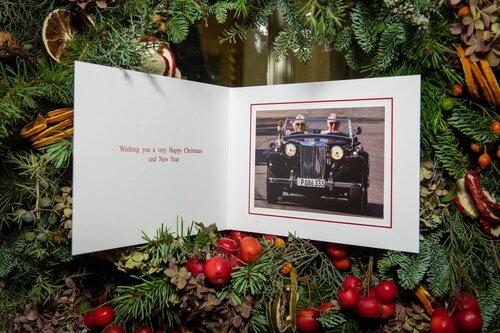 Charles d'Angleterre et Camilla adressent leurs voeux de Noël