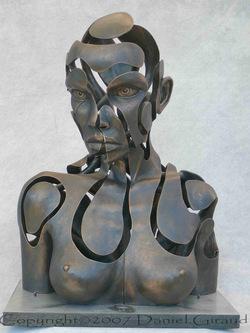 "Daniel Giraud, ""Buste fragmenté"""