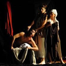 """Résultat de recherche d'images pour """"Caravaggio, tableaux vivants de Malatheatre - Ludovica Rambelli."""""""
