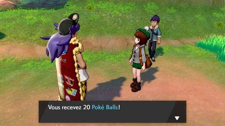 Route 2 : 20 Pokéballs ! [Screenshot Pokémon Épée Bouclier]