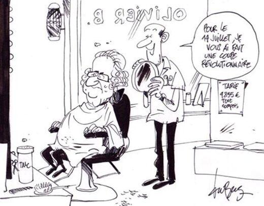 Cher coiffeur !...