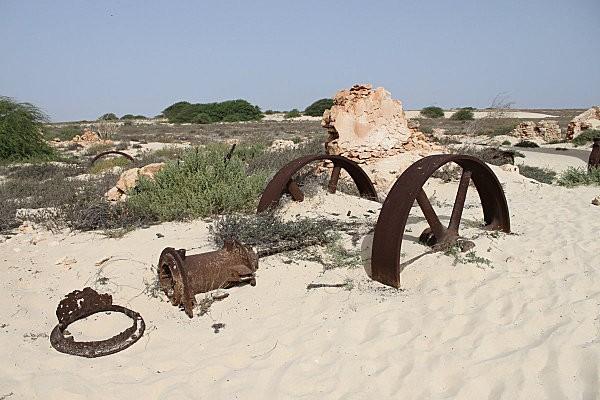 sur le site de l'ancienne briquetterie à Boa Vista
