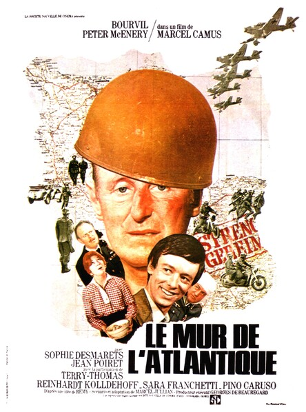LE MUR DE L'ATLANTIQUE - BOURVIL BOX OFFICE 1970