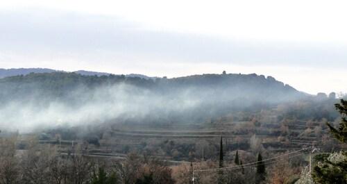 Une brume passe...
