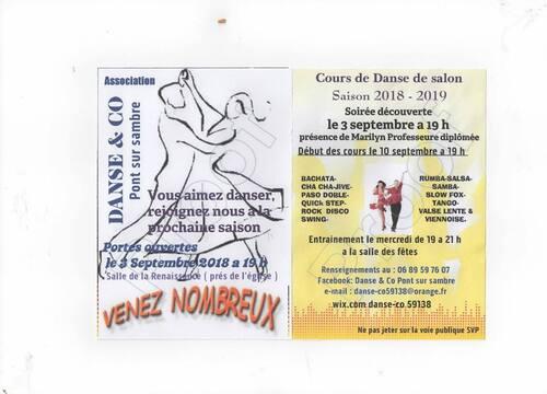 Danse de salon Pont sur sambre