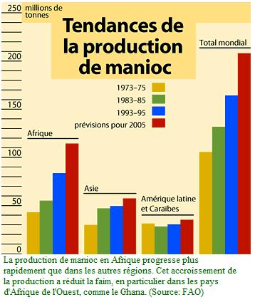 L'Afrique et le manioc : le marché du manioc