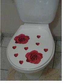Blog de charlottopoire :Charlottopoire... mes petites créas..., relookage des toilettes