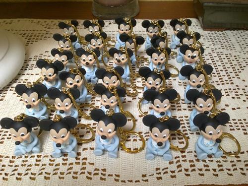 "Portes clefs ""Bébé Mickey"""