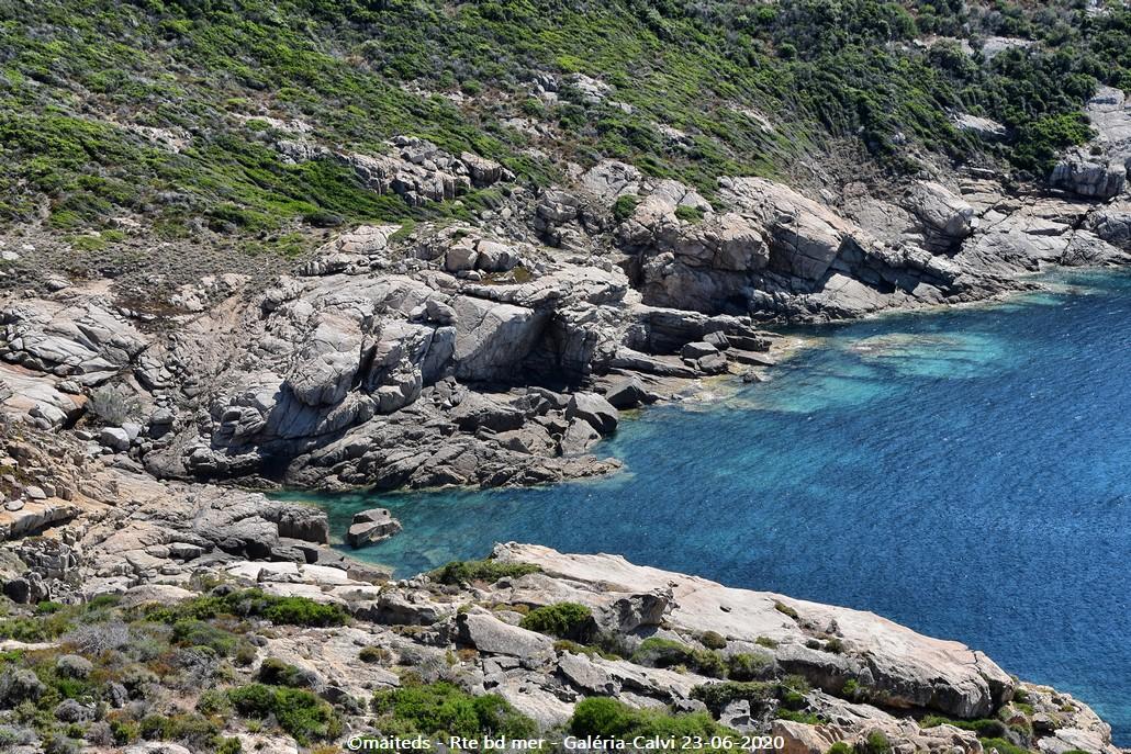 Route du bord de mer - Galéria - Calvi