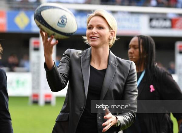 Charlène et le rugby