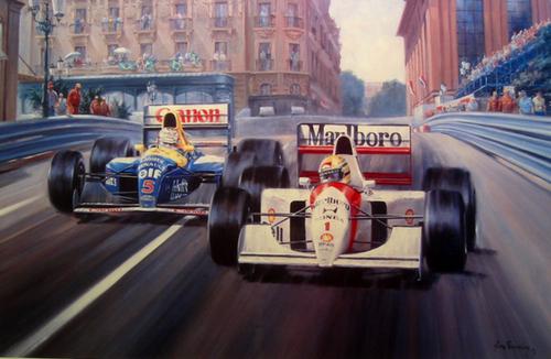 Peintures de : Alan Fearnley