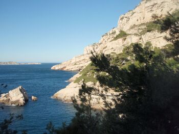 L'anse et l'îlot de la Melette