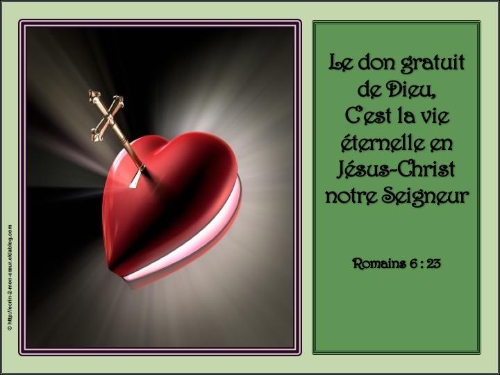 La vie éternelle : don gratuit de Dieu - Romains 6 : 23