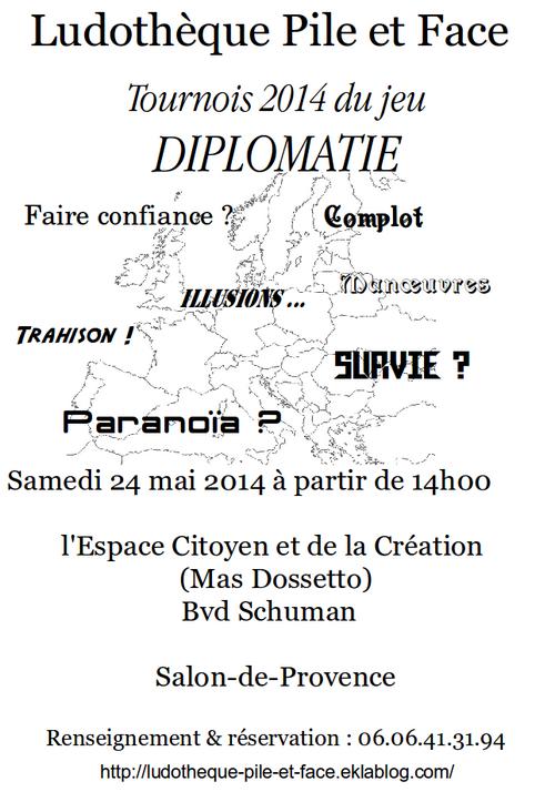2e Tournois de la diplomatie sur Salon de Provence