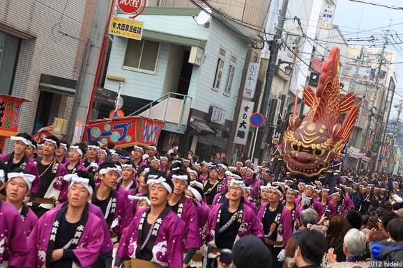 唐津くんち2012