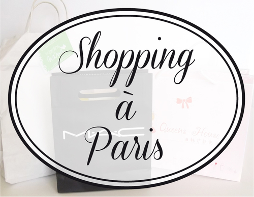 Haul Parisien, paris, mac, queen house, bath and body works, cosmétiques asiatiques, soins, make up