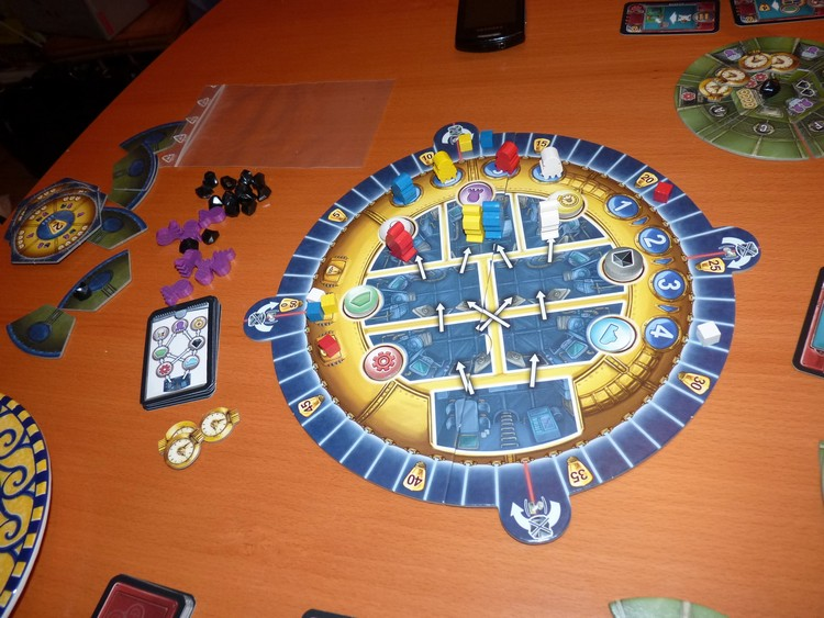 Aquasphere (plateau des actions)