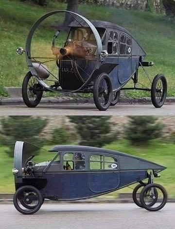 La voiture à jélice ...
