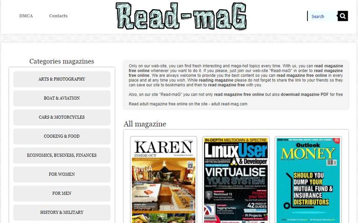 5 Site de magazines à lire gratuitement