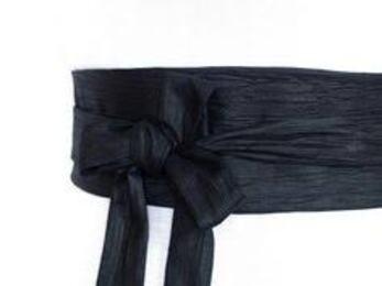 Vision de Jésus ayant une ceinture noire à la taille