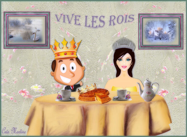 """Défi Nathie """"Roi et Reine""""."""