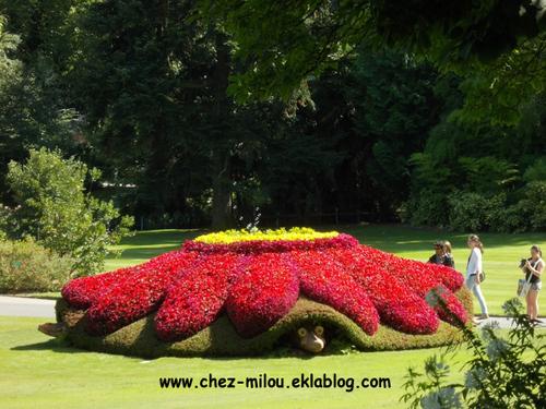 Claude Ponti au Jardin des plantes à Nantes