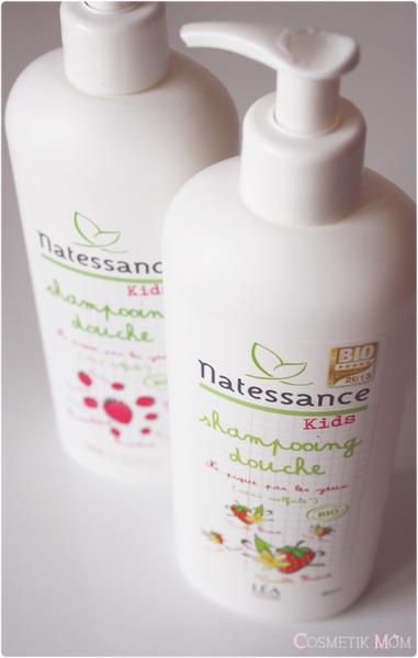 Shampooing Douche Natessance Kids, du bon du bio sans sulfate