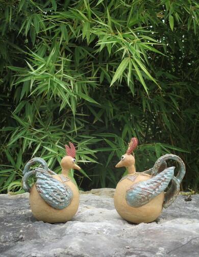. poulettes-grès-michel cornut-atelier des lisières