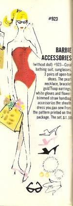 Barbie vintage : Accessories