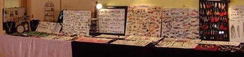 Exposition de mes bijoux au 1er salon de l'artisanat d'AZAY-SUR-CHER