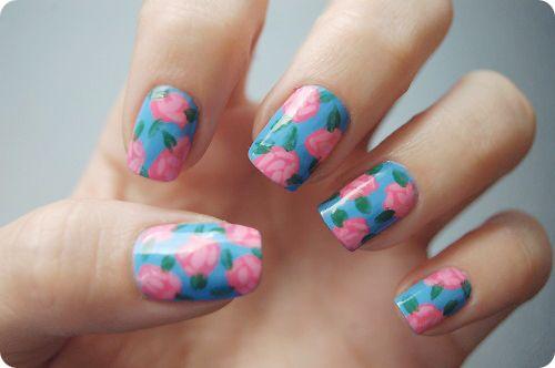 Nail art fashion...